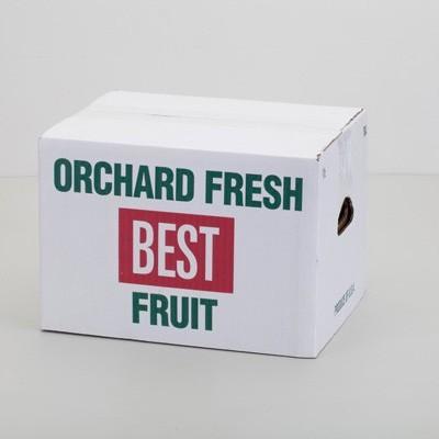stock half bushel carton