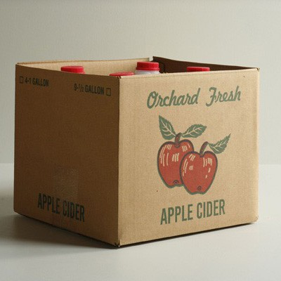 #625 Four Gallon Cider Carton