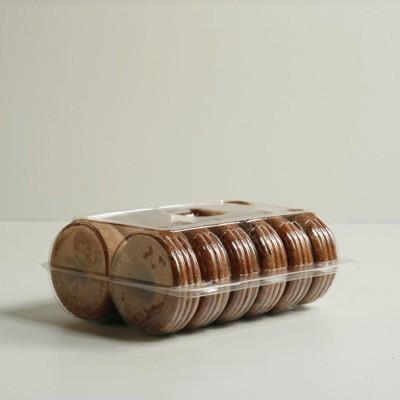 Donut Clamshell - One Dozen
