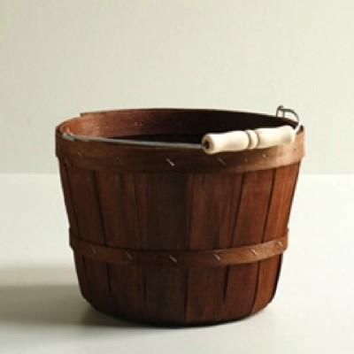 Half Peck Wooden Baskets