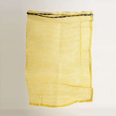 Five Dozen Mesh Bag, with Drawstring - Yellow