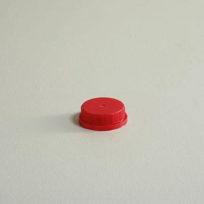 Rigid Plastic Cider Caps - Red