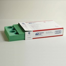 14 Count Foam Priority Mail Gift Set - Insert & Pads - Green