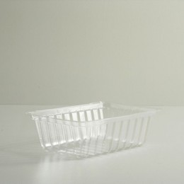 2 Quart Clear Plastic Tray
