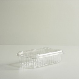 One Quart Clamshell Tray