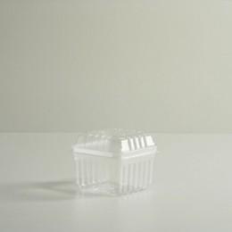 Pint & Half Pint Clear Plastic Lid