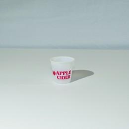 Plastic Cider Cup 3 1/2 oz