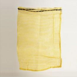 Five Dozen Mesh Bag, with Drawstring - Yellow