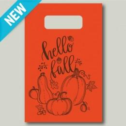 'Hello Fall' Fall Harvest Tote Bag