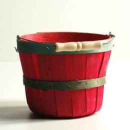 Quarter Peck Wooden Baskets