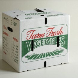 1 1/9 Bushel Vegetable Carton - Mum
