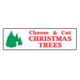 ''Choose & Cut Xmas Trees''  - 3' X 10'