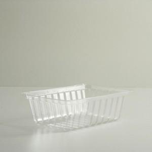 2 Quart Clear Plastic Tray