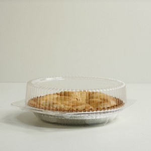 Clear Pie Clamshell - 10'' Diameter