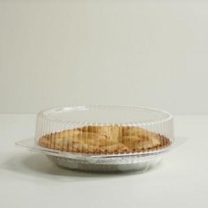 Clear Pie Clamshell - 10'' Diameter