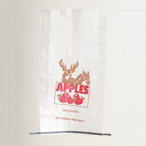 Half Bushel Woven Feed Bag - Stock Print