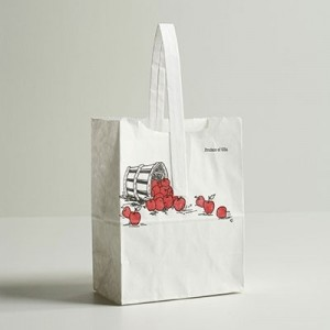 Apple Wet Strength Paper Totes