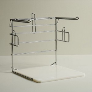 Check-Out Bag Rack, for Large & Medium